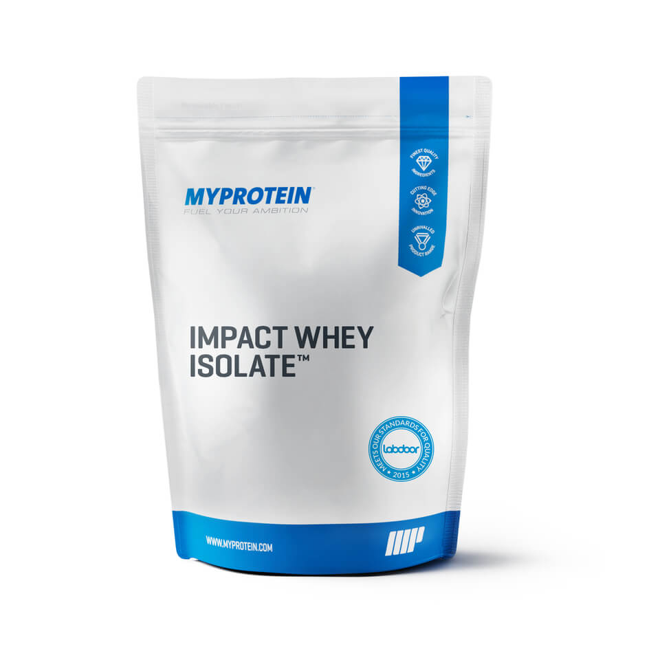 Foto Impact Whey Isolate, Natural Banoffee, 2.5kg Myprotein