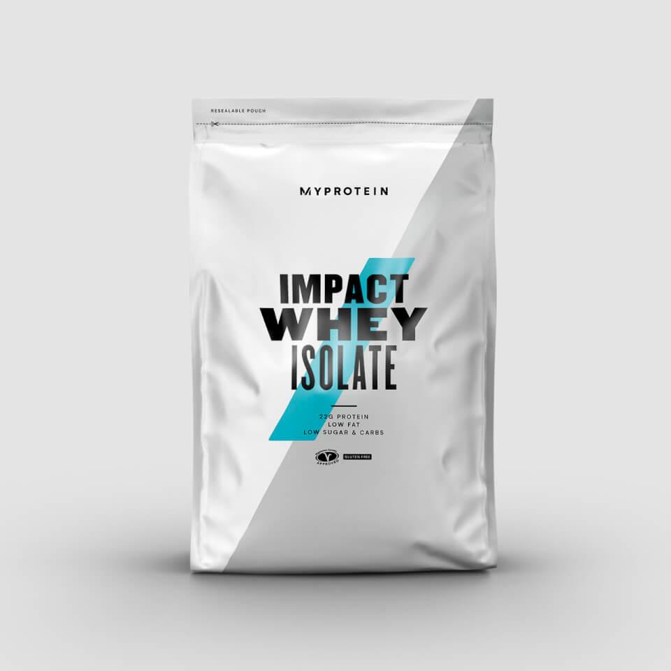 Impact Whey Isolate - 1kg - Burro di arachidi al...