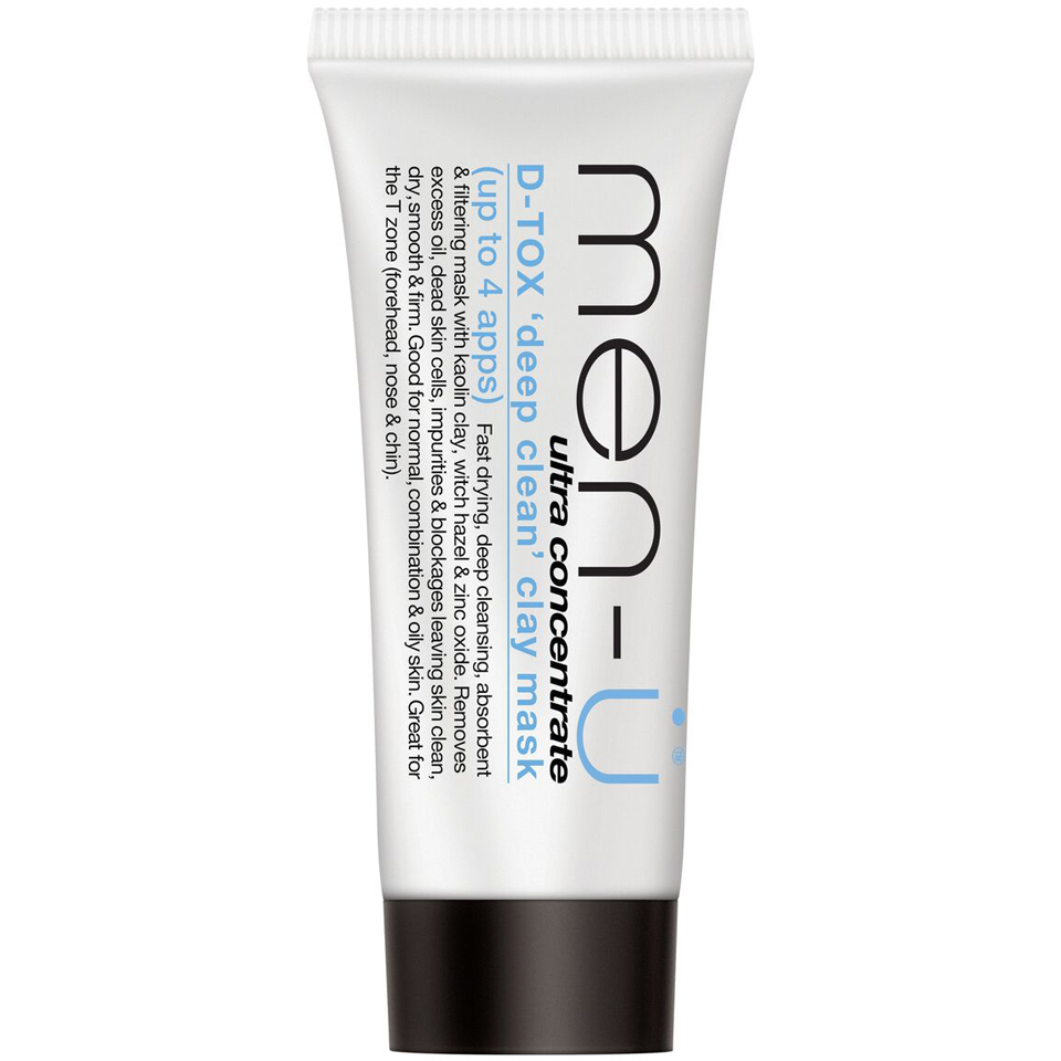 Men-+-+ Buddy D-tox Deep Clean Clay Mask Tube (15ml)