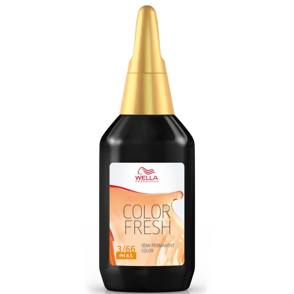 Wella Color Fresh Dark Intense Violet Brown 3.66 (75ml)
