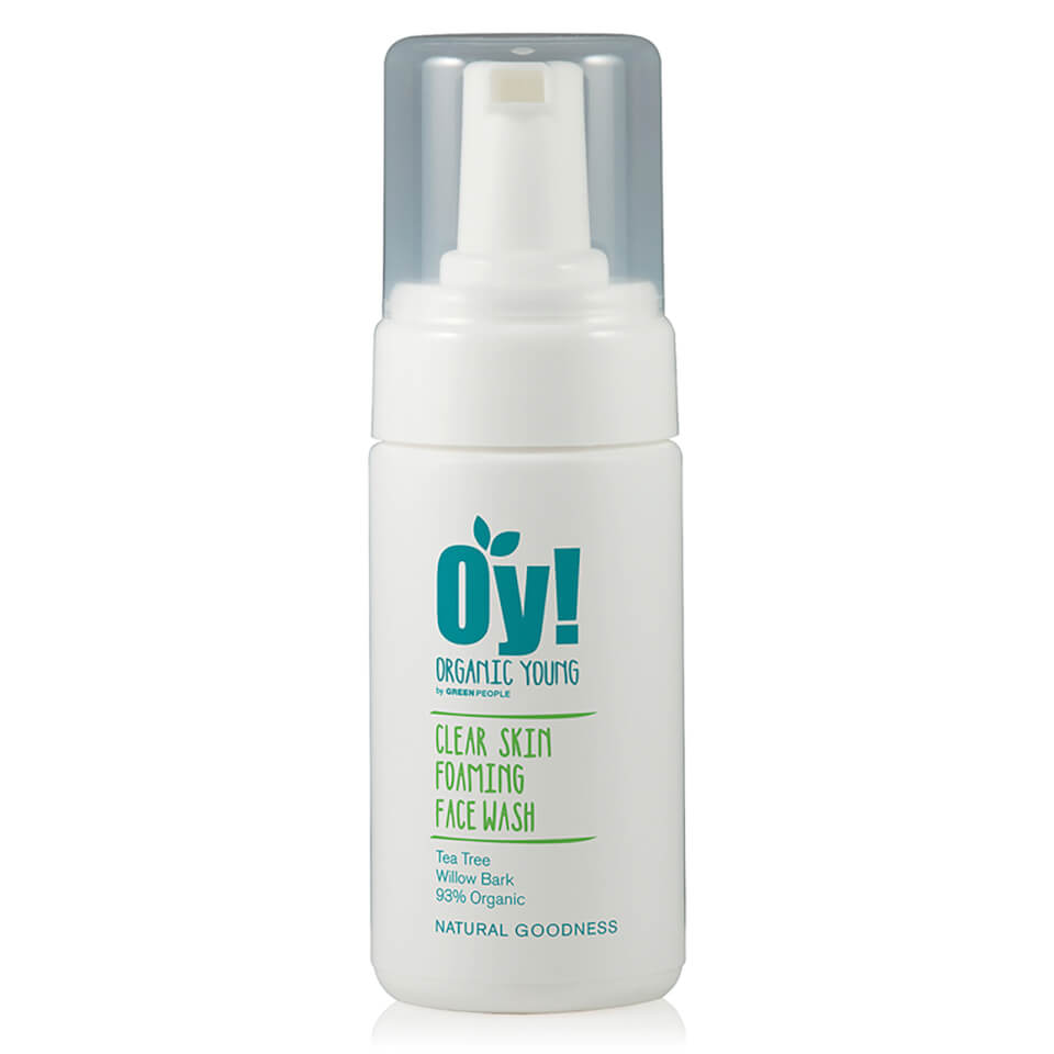 Green People Oy! Skummende Anti-Bac Face Wash (100 ml)
