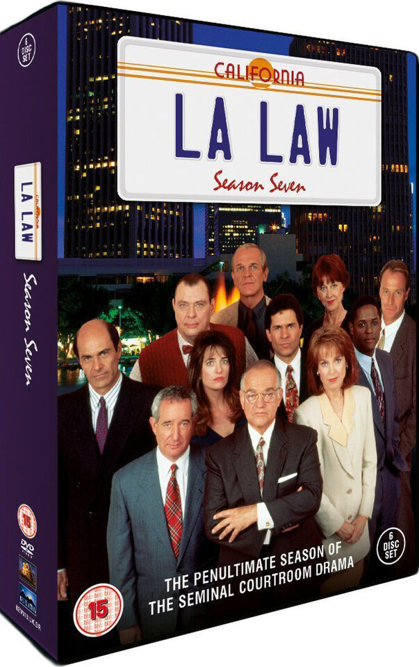 La Law Season 7 Dvd Zavvi
