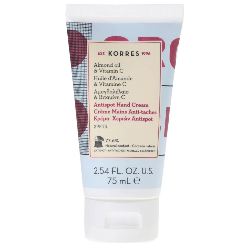 KORRES Almond Oil And Vitamin C Hand Cream Anti-Ageing And Anti-Spot ...