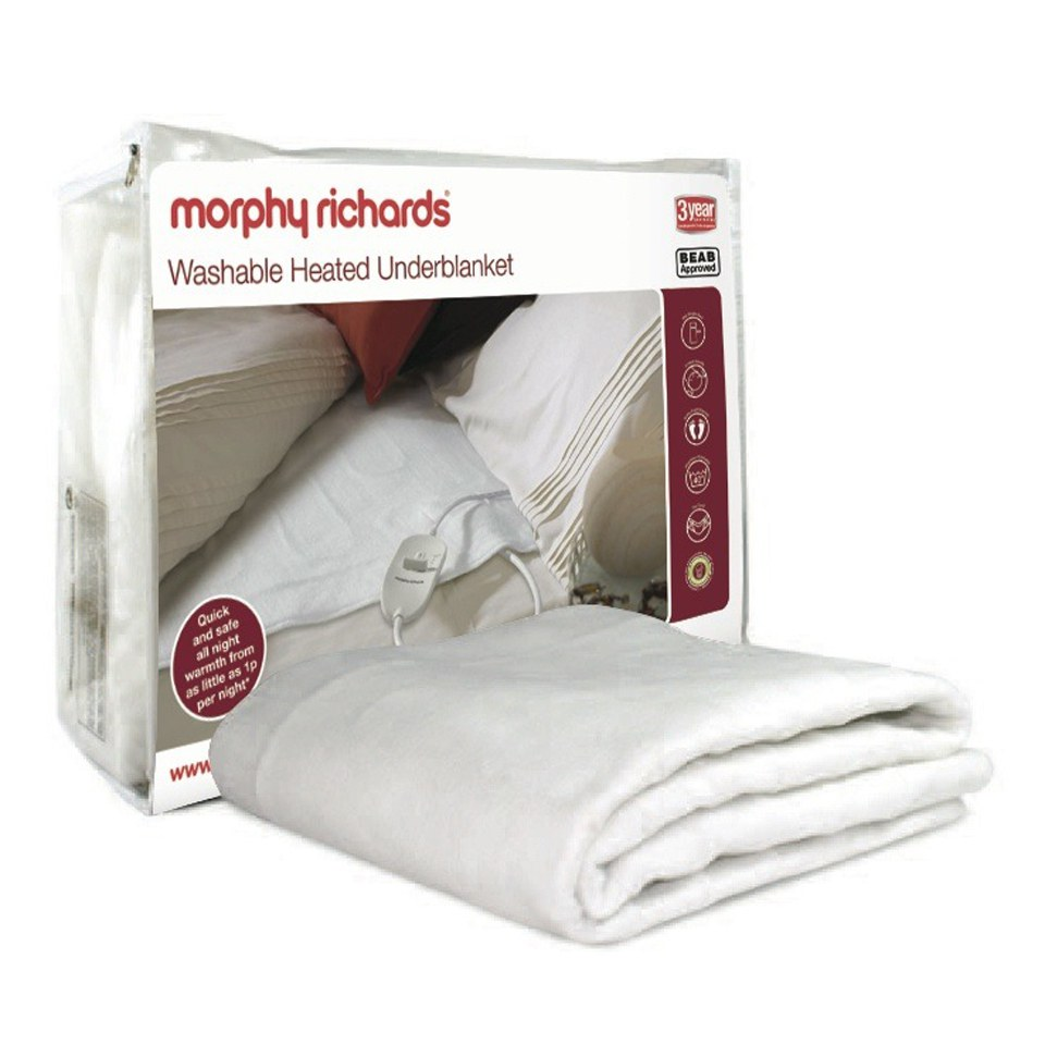 morphy-richards-75184-heated-blanket-white-double