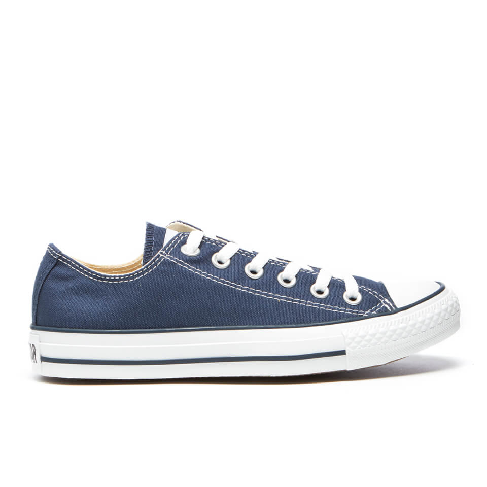 bfbe239207a4 ... Men s 5  UPC 022859566957 product image for Converse Chuck Taylor All  Star Ox Canvas Trainers - Navy