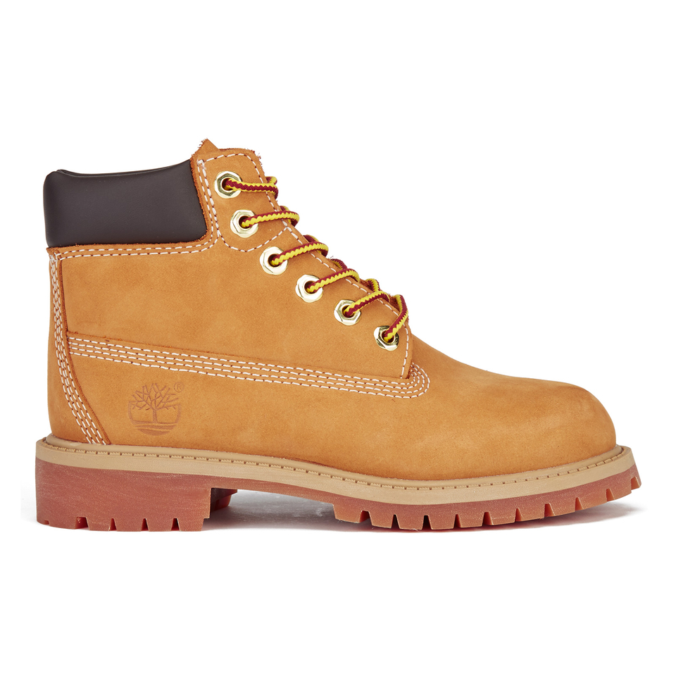 Timberland Kids 6 Inch Premium Waterproof Boots Wheat