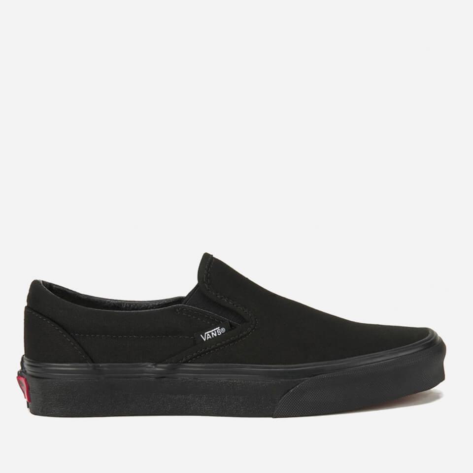 vans-classic-slip-on-canvas-trainers-black-4-black