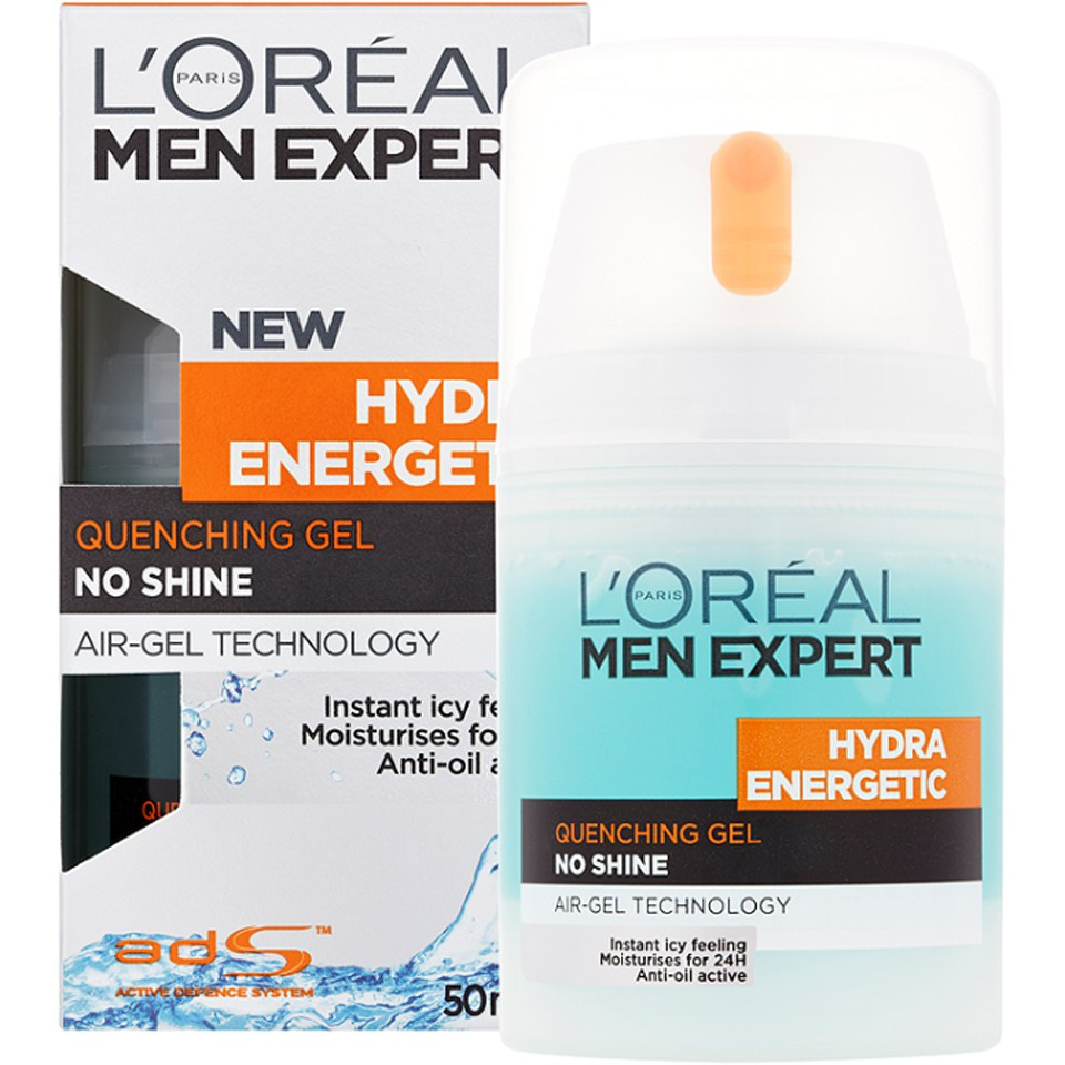 L'Oreal Paris Men Expert Hydra Energetic Quenching Gel (50ml)