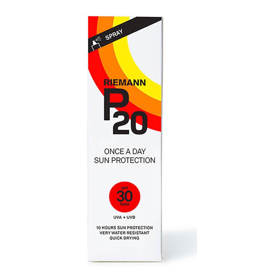 P20 Riemann Zonnebrand Factor(spf)30 Sprayflacon 100ml