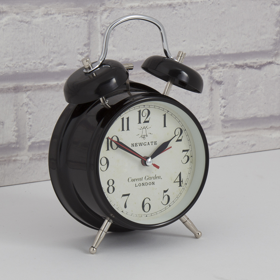 newgate-covent-garden-medium-clock-black