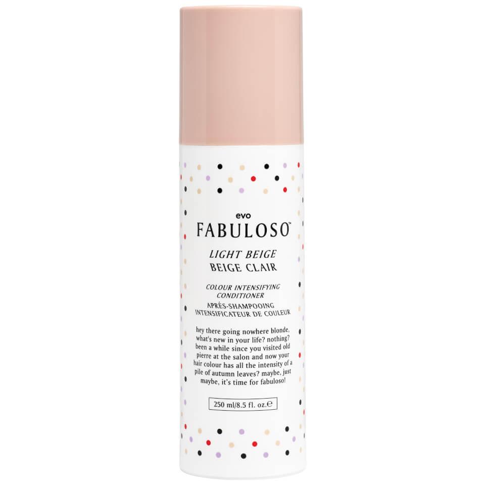 Evo Fabuloso Colour Intensifying Light BeigeBalsam 250 ml)