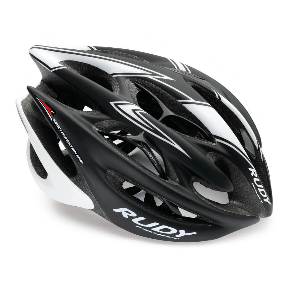 Rudy Project Sterling Helmet - S-M/54-58cm - Black / Matte White
