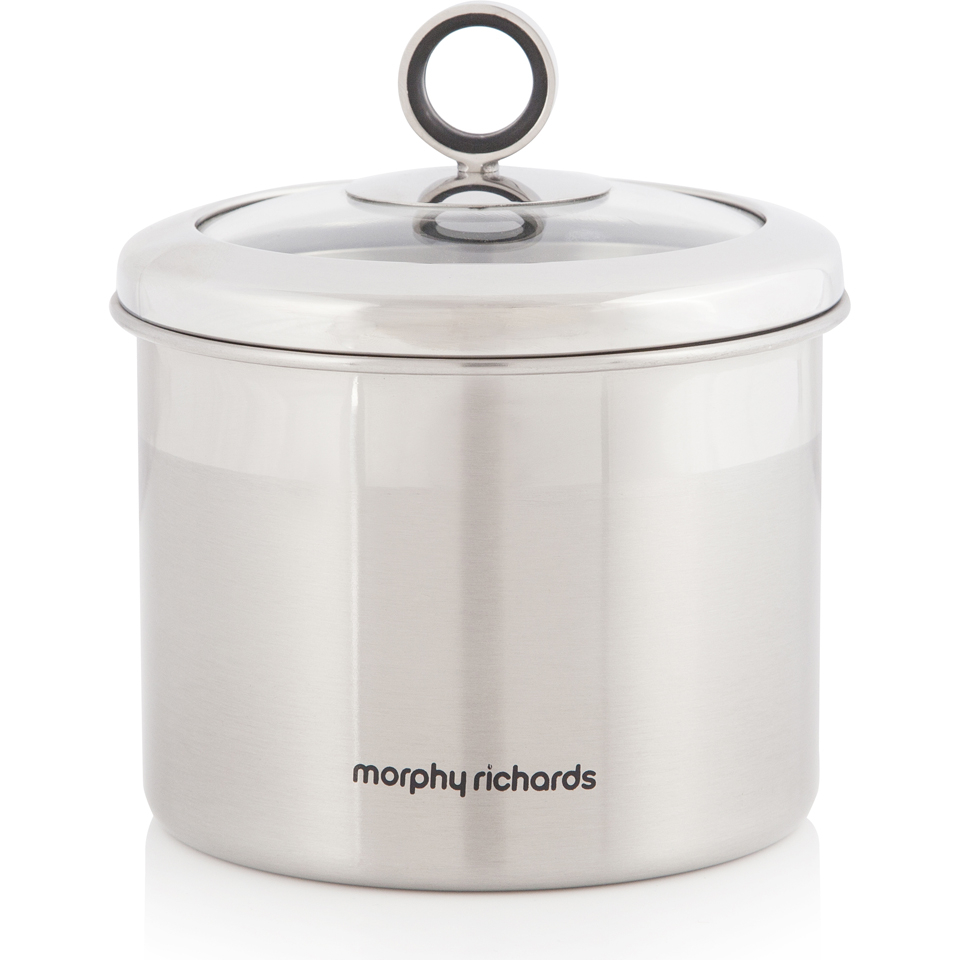 morphy-richards-accents-small-storage-canister-stainless-steel