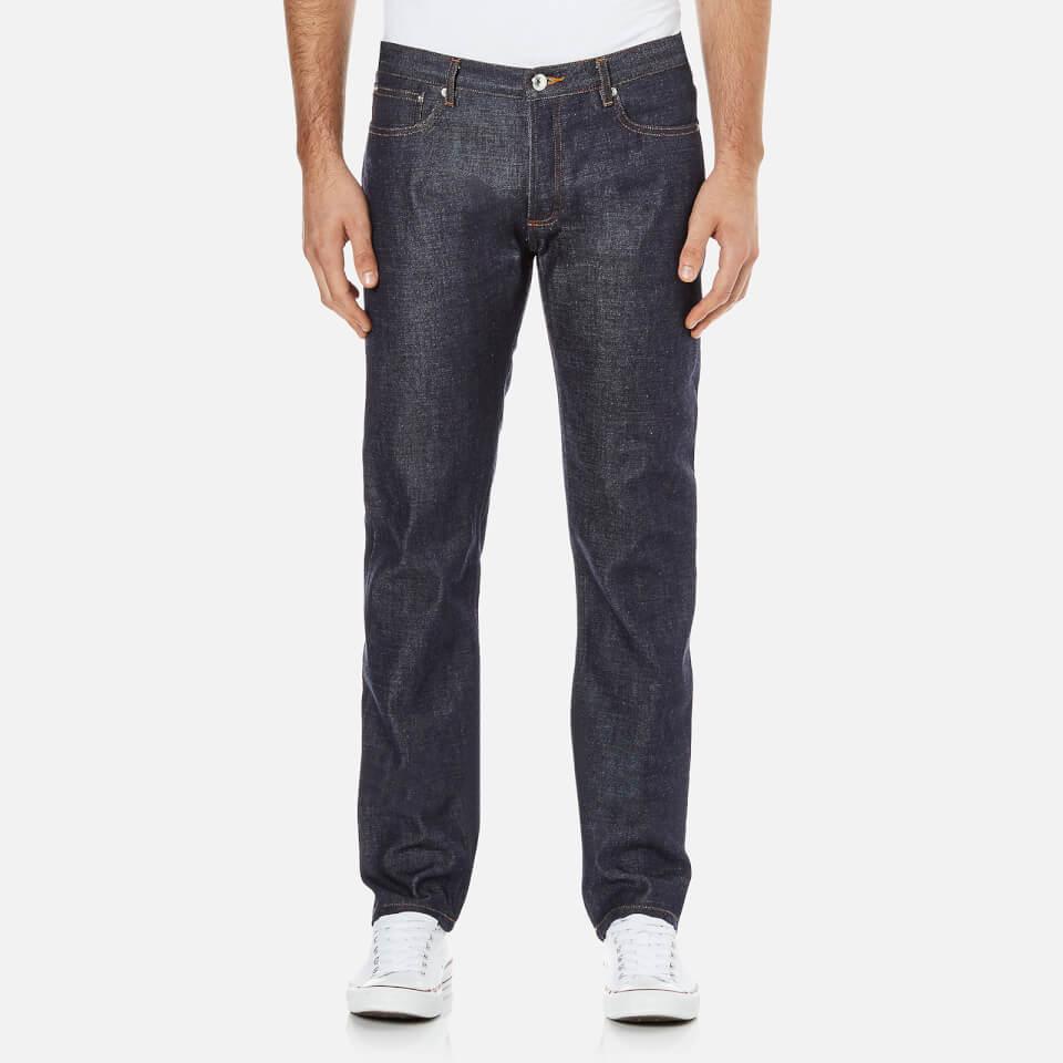 A.p.c. Mens Petit New Standard Mid Rise Jeans Selvedge Indigo W36/l32