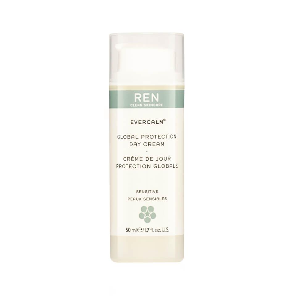 REN Evercalm crème de jour protection globale  50ml