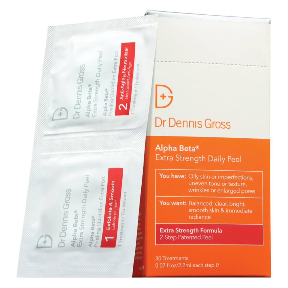 Dr Dennis Gross Skincare Alpha Beta Extra Strength Daily Peel (30�bustine)