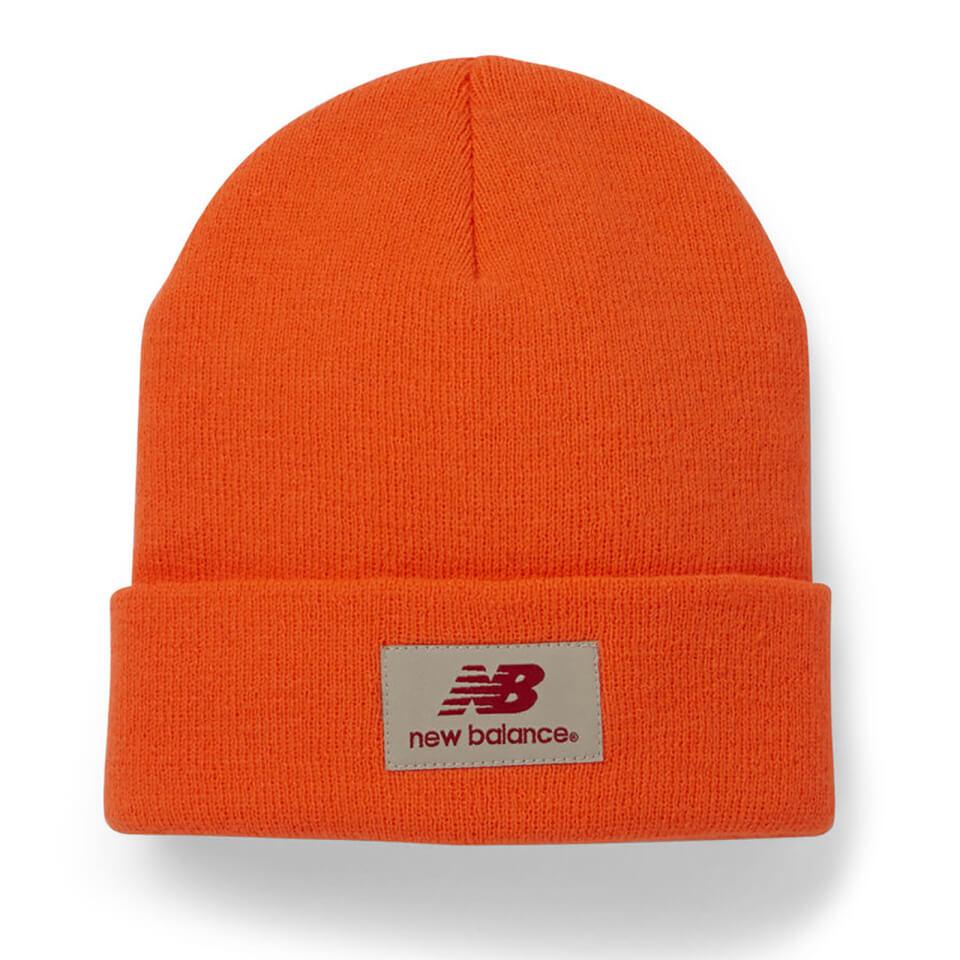 5451db6148aaab New Balance Unisex Troy Beanie - Acrylic Fluo Orange Clothing | TheHut.com