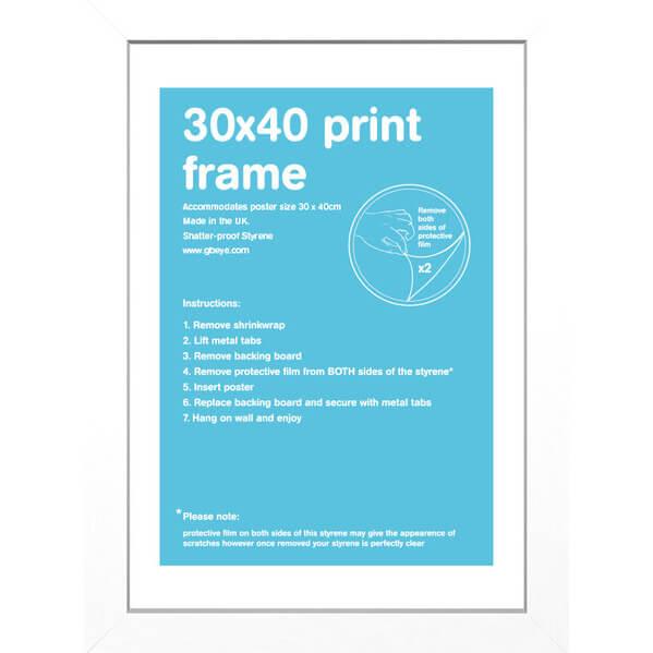 white-frame-30-x-40-cm