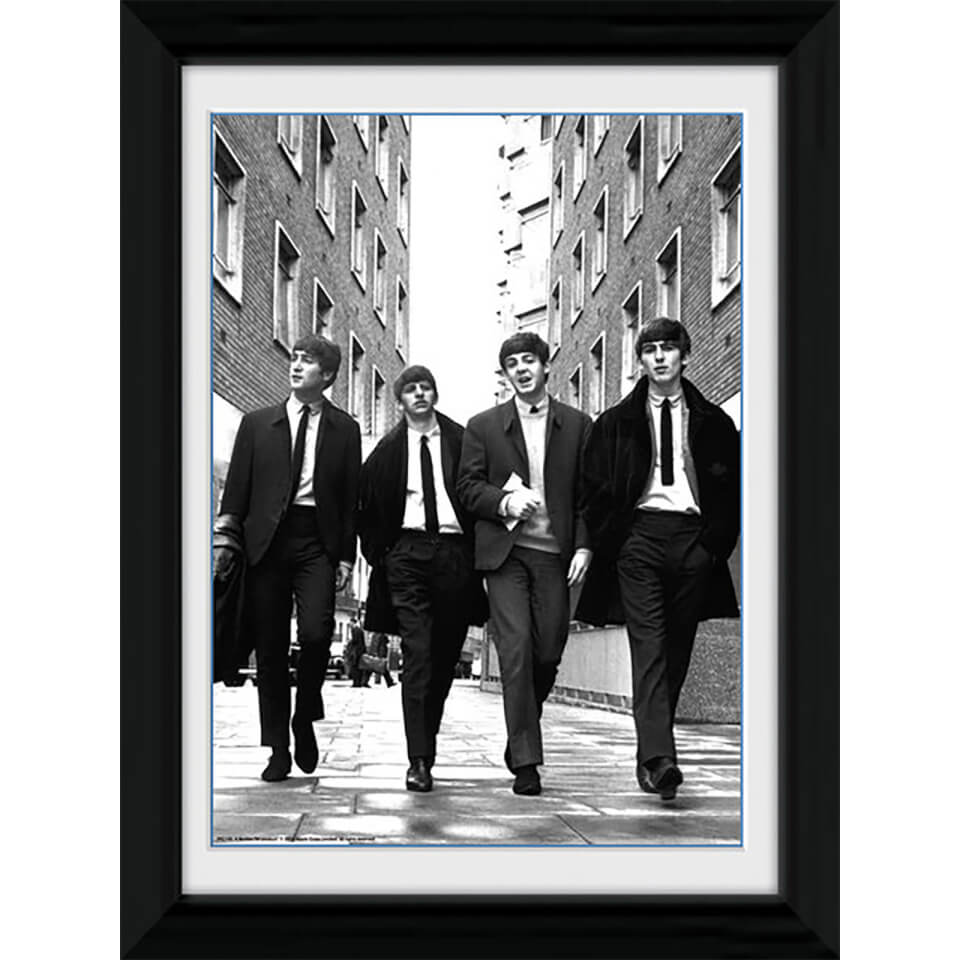The Beatles In London Portrait 30 X 40cm Collector