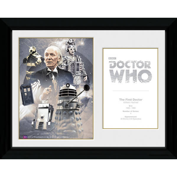doctor-who-1st-doctor-william-hartnell-30-x-40cm-collector-prints