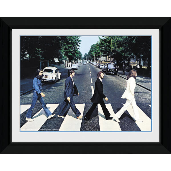 the-beatles-abbey-road-8-x-6-framed-photographic