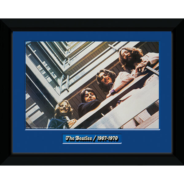 the-beatles-blue-album-8-x-6-framed-photographic