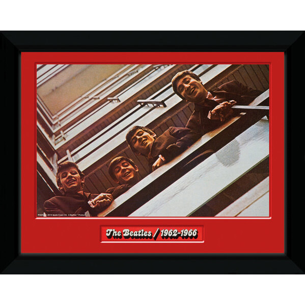 the-beatles-red-album-8-x-6-framed-photographic