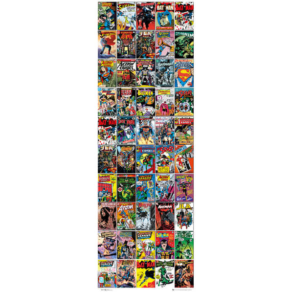 dc-comics-comic-covers-door-poster-53-x-158cm