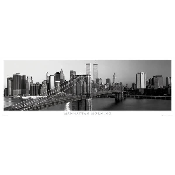 new-york-manhattan-morning-door-poster-53-x-158cm