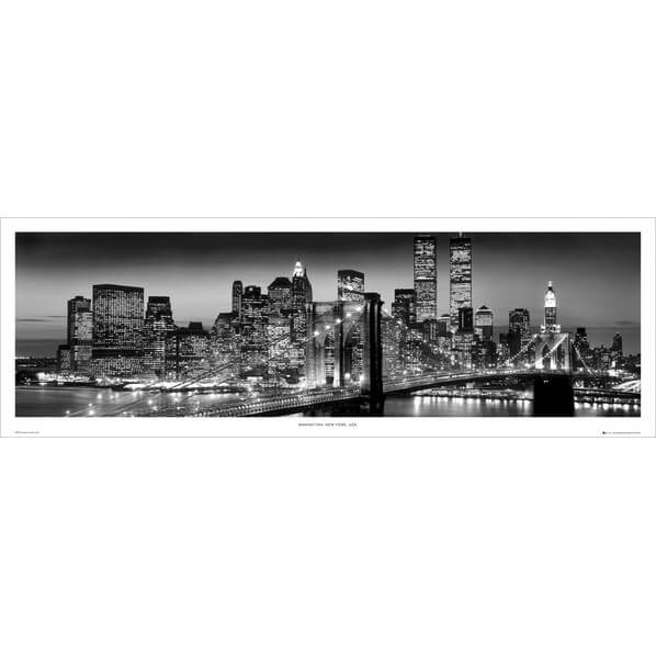 new-york-manhattan-black-berenholtz-door-poster-53-x-158cm