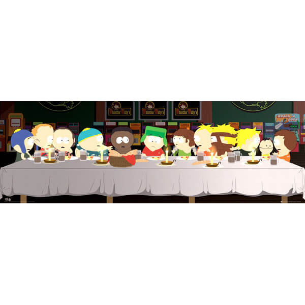 south-park-last-supper-door-poster-53-x-158cm