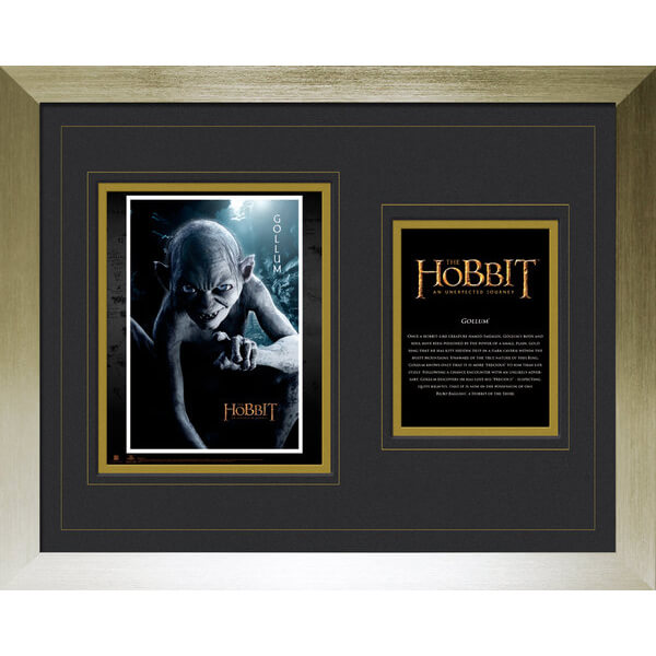 the-hobbit-gollum-high-end-framed-photo-16-x-20