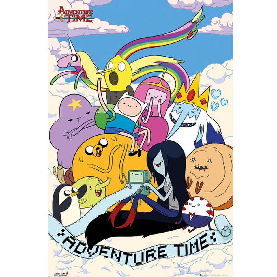 adventure-time-clouds-maxi-poster-61-x-915cm