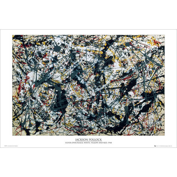 pollock-silver-on-black-maxi-poster-61-x-915cm