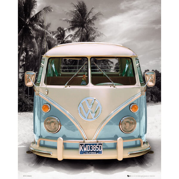 vw-californian-camper-beach-mini-poster-40-x-50cm