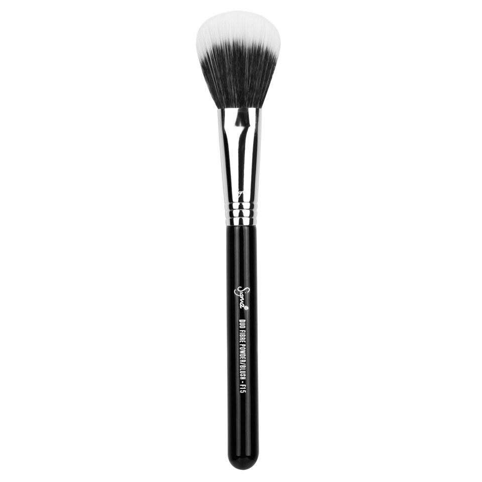 Sigma Beauty F15 - Duo Fibre Powder/Blush Rougepinsel