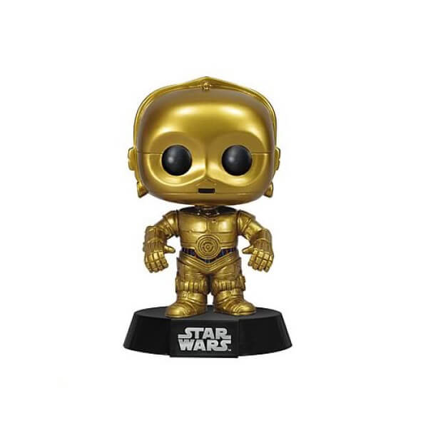 Star Wars C 3po Pop Vinyl Figure Bobblehead Merchandise