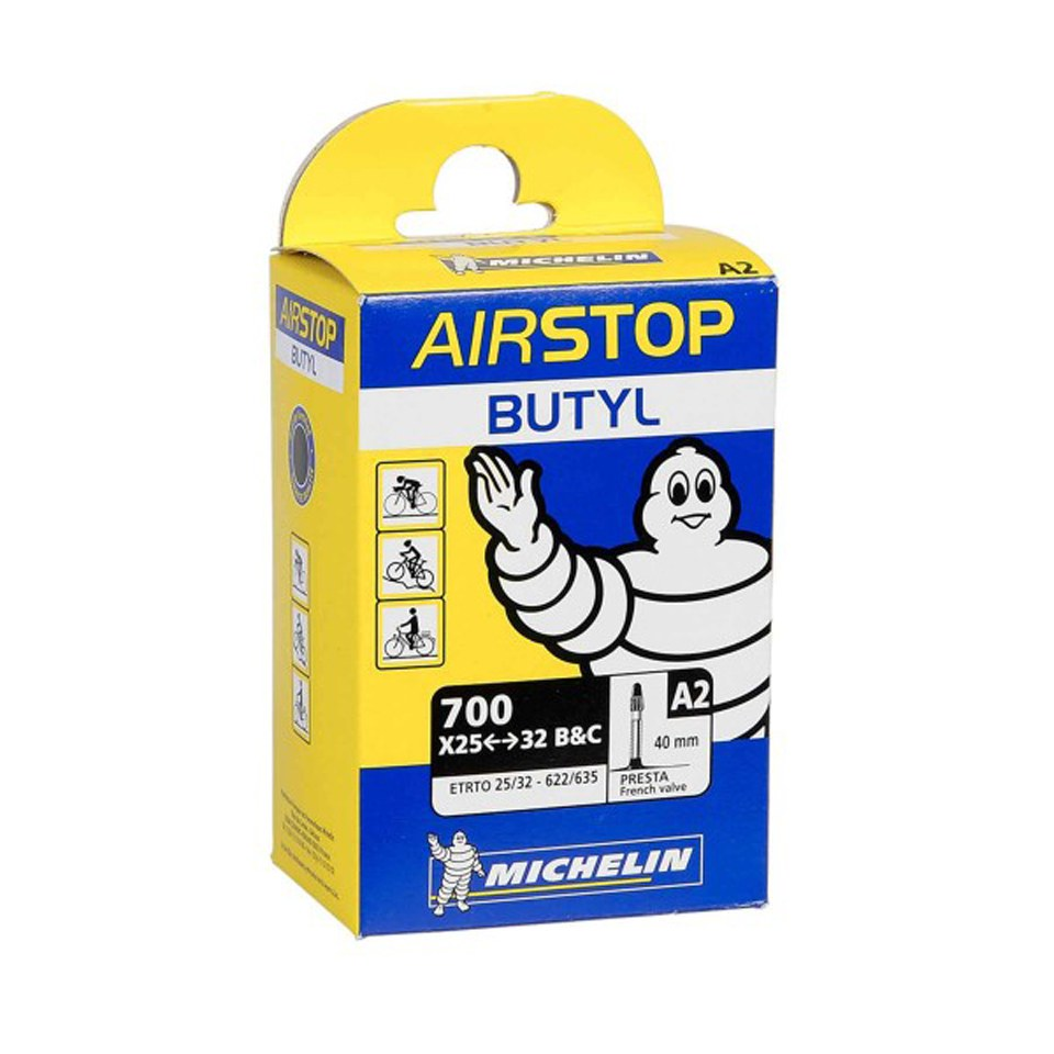 michelin-a2-airstop-road-inner-tube-700c-x-25-32mm-presta-40mm