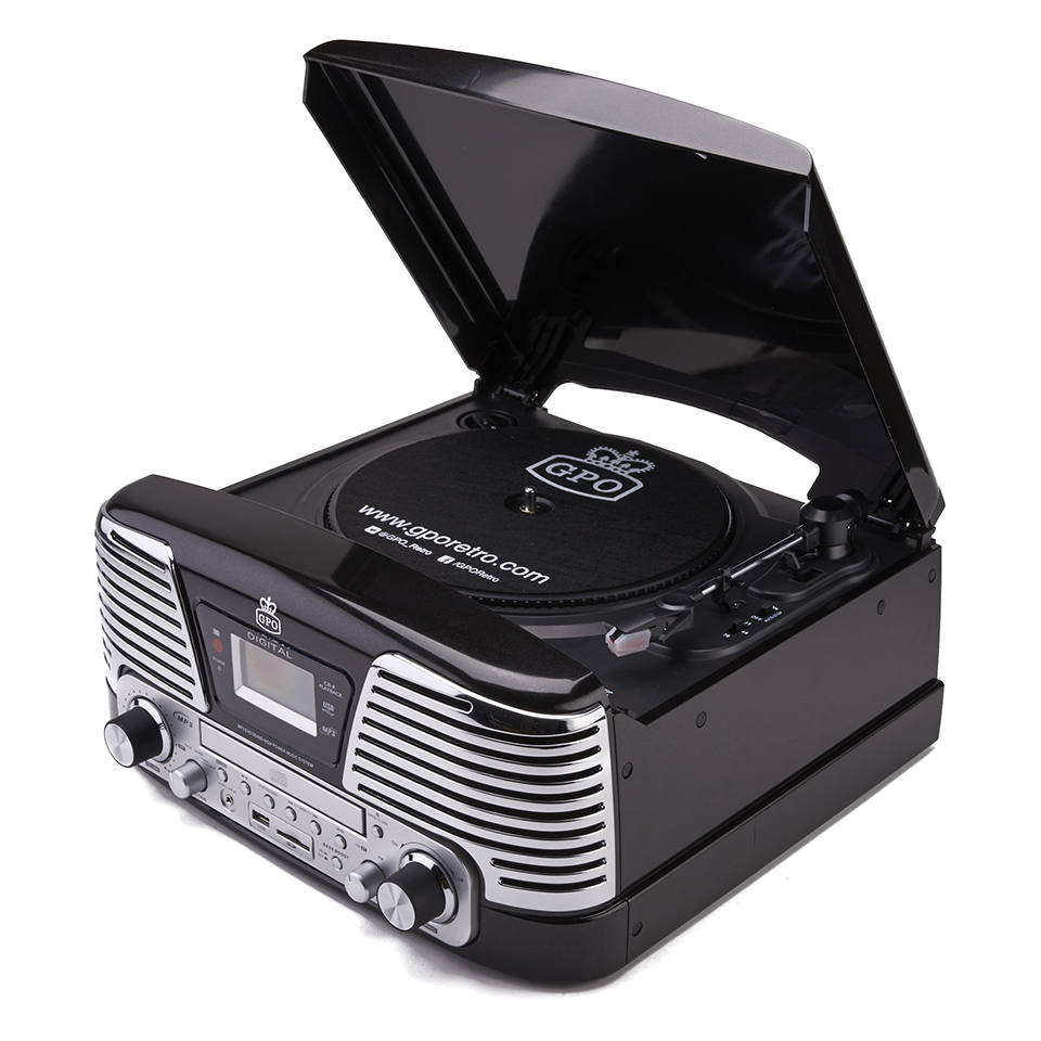 gpo-retro-memphis-turntable-4-in-1-music-system-with-built-in-cd-fm-radio-black
