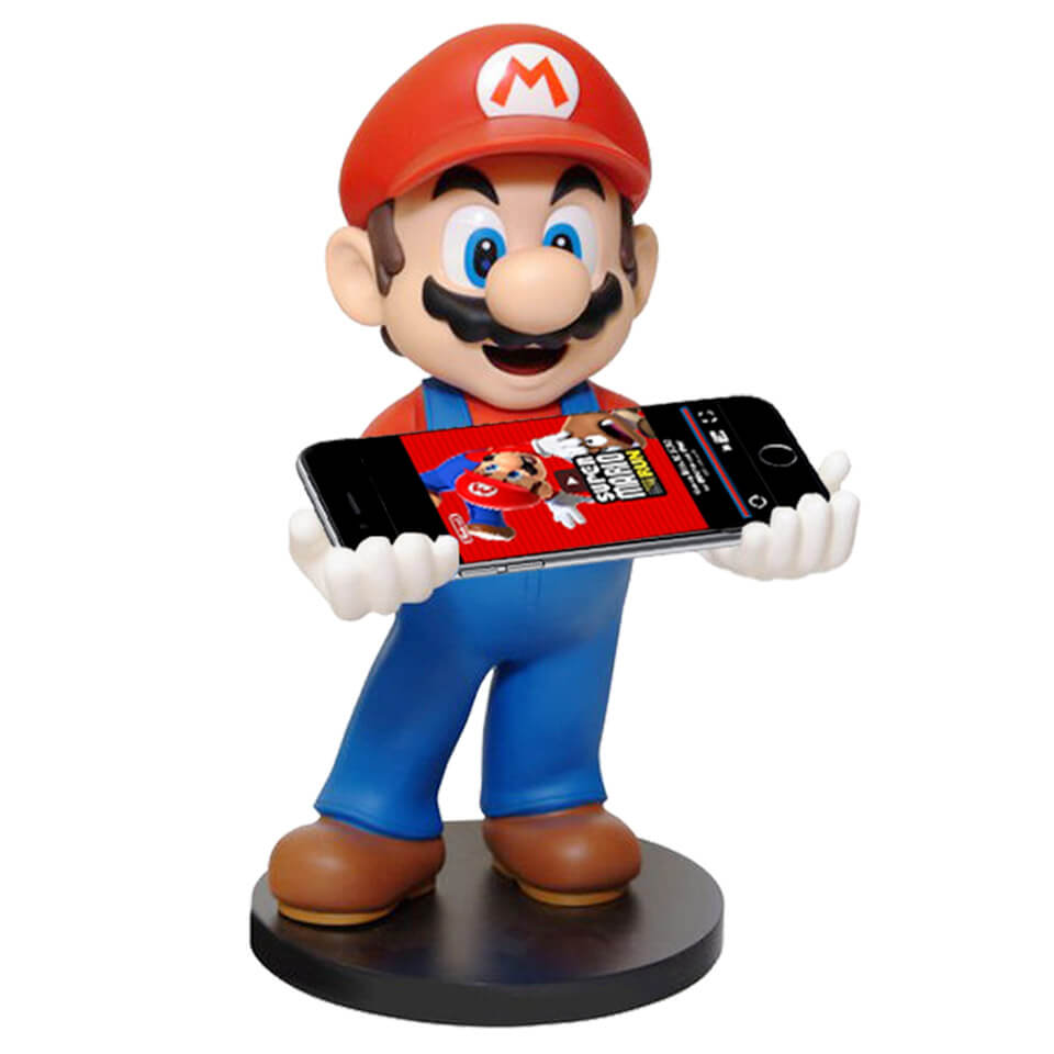 A Super Hip Mid Century Modern Living Room 1967 Love The: Super Mario Phone / Console Holder