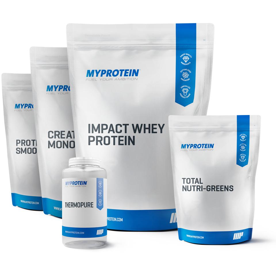 Foto Pacchetto Essenziale - Fragola Myprotein Nutrizione sportiva