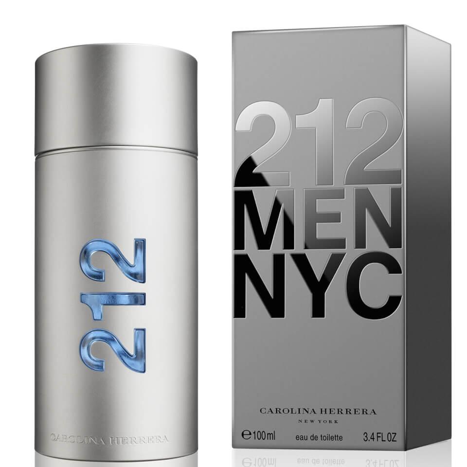 Carolina Herrera 212 Men NYC Eau de Toilette (EdT) 100 ml silber