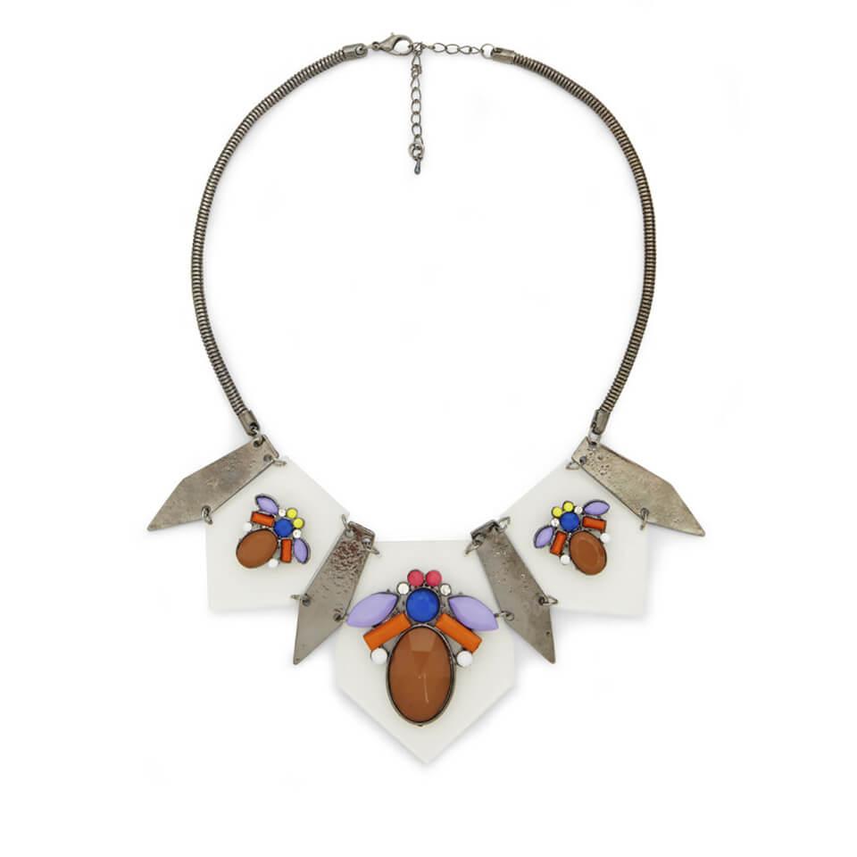 Impulse Women's Multi Perspex Necklace - Clear
