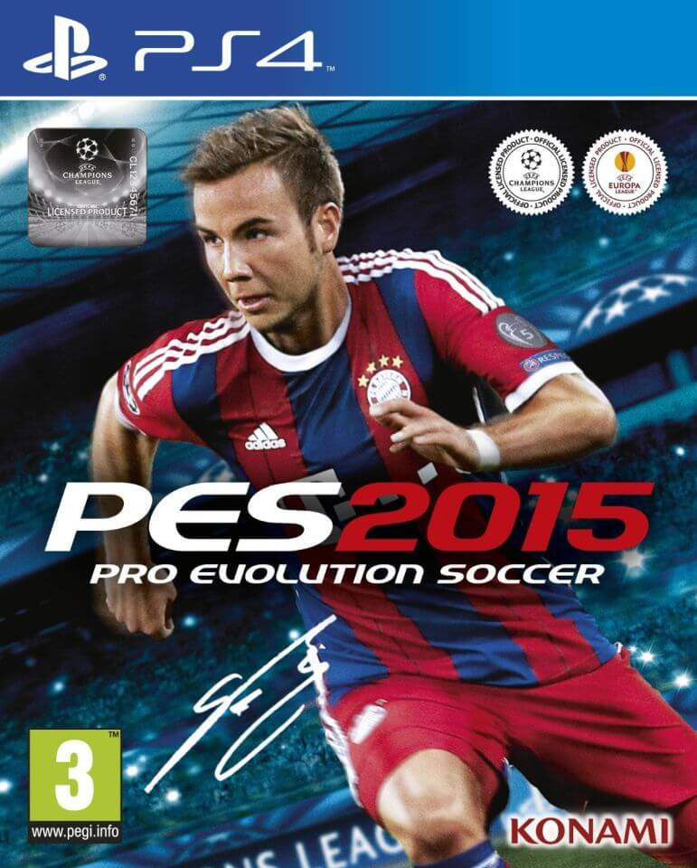 777b98cfe402 PES 2015  Pro Evolution Soccer PS4