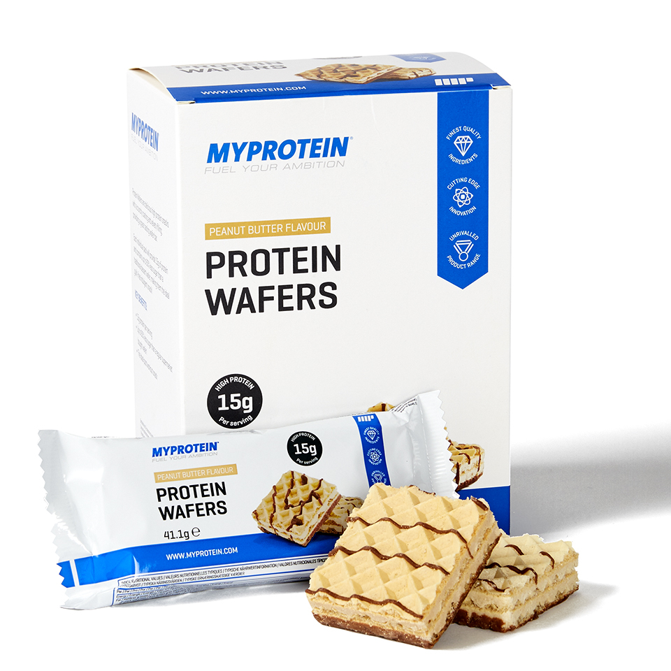 Foto Protein Wafers, Cookies & Cream, 10x40g Myprotein