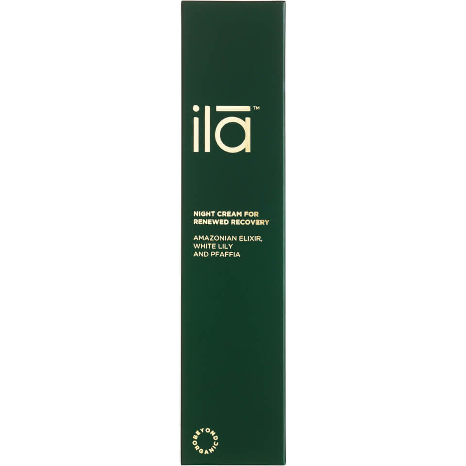 Image of IlaSpa Night Cream for Renewed Recovery