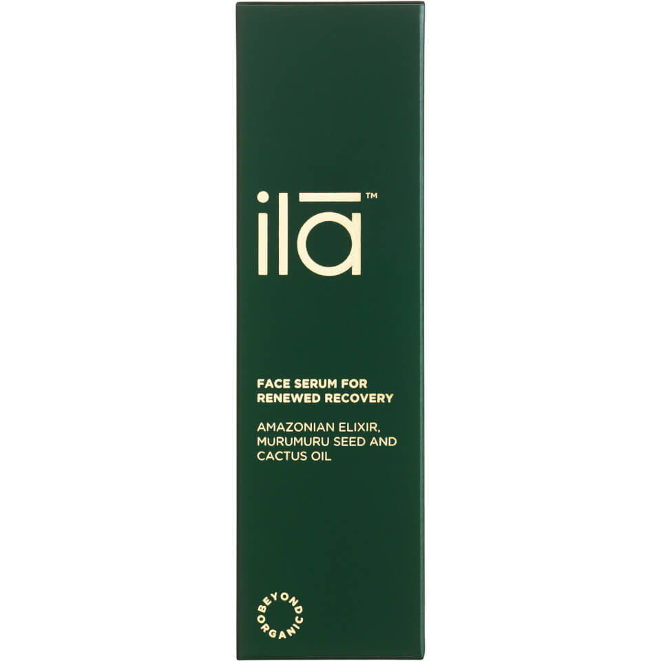Image of IlaSpa Face Serum for Renewed Recovery 1oz
