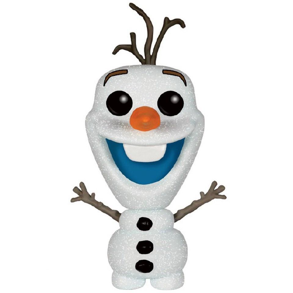 Frozen Glitter Olaf Snowman Pop Vinyl Figure Ee