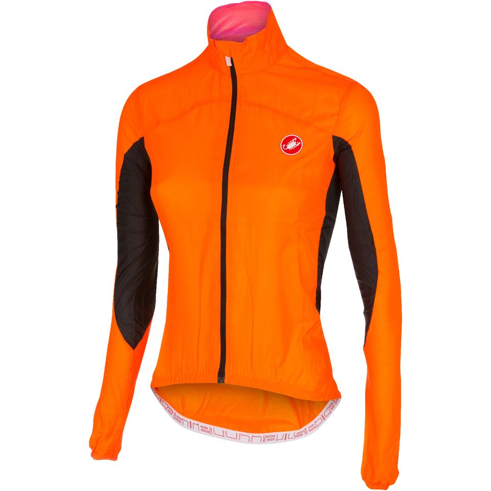castelli-women-velo-windbreaker-jacket-orange-s