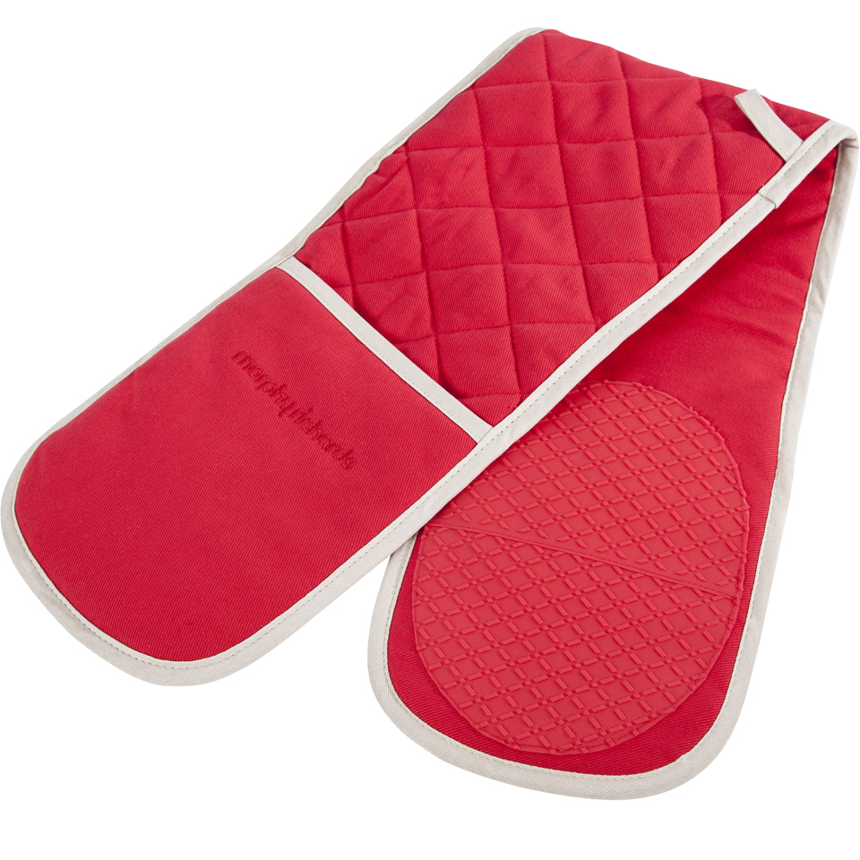 morphy-richards-973511-double-oven-glove-red-18x88cm